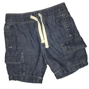 ⭐️ Old Navy 18-24 mo elastic waist chambray shorts